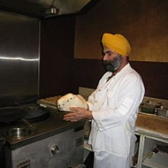 Kitchen Chief Brushed Stainless Steel Undermount Sink Chef Wikipedia Preparing Naan To Be Cooked In A Tandoor