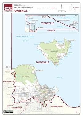 タウンズビルの選挙區 - Electoral district of Townsville - Wikipedia