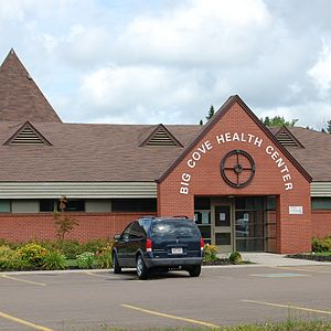 English: Elsipogtog (Big Cove) Health Centre, ...