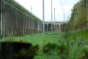English: Frankland Prison - Rear Elevation Fra...