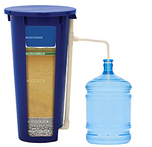 English: BioSand filtration uses a combination...
