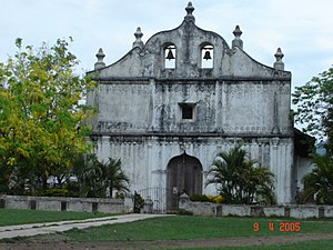 Iglesia de Nicoya, Guanacaste, Costa Rica.