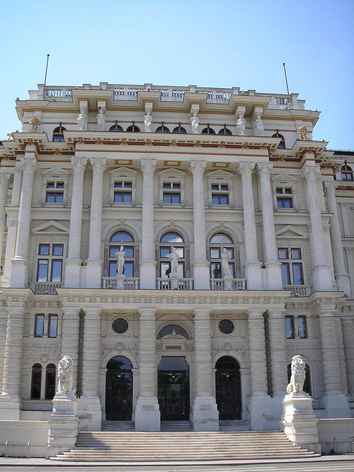 Supreme Court Of Justice Austria Wikipedia
