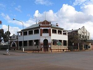 English: National Australia Bank at Lake Carge...
