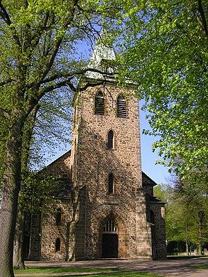 Church in Löhne, District of Herford, North Rh...