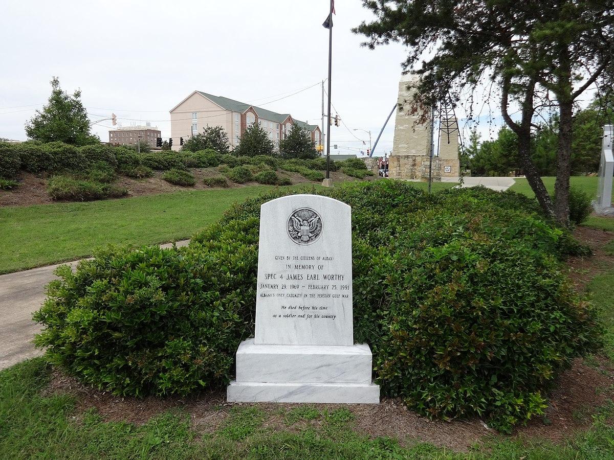 File Persian Gulf War Memorial In Veterans Park Albany