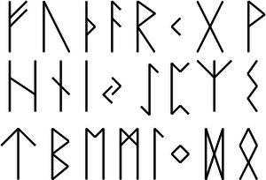 Runes futhark old