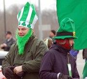 Saint Patrick's Day Parade, Dublin Ohio.