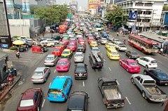 Ploenchit rd Bangkok Thailand
