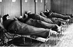 English: Tbc-patienterna på Söderby sanatorium...