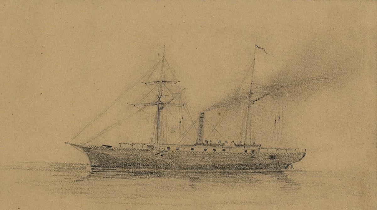 USS Monticello 1859  Wikipedia