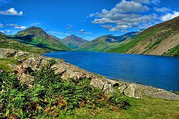 English: Wastwater, Lake District, England.