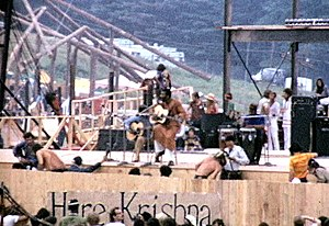 English: Richie Havens at the Woodstock Festival