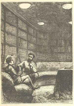 The library of the Nautilus.