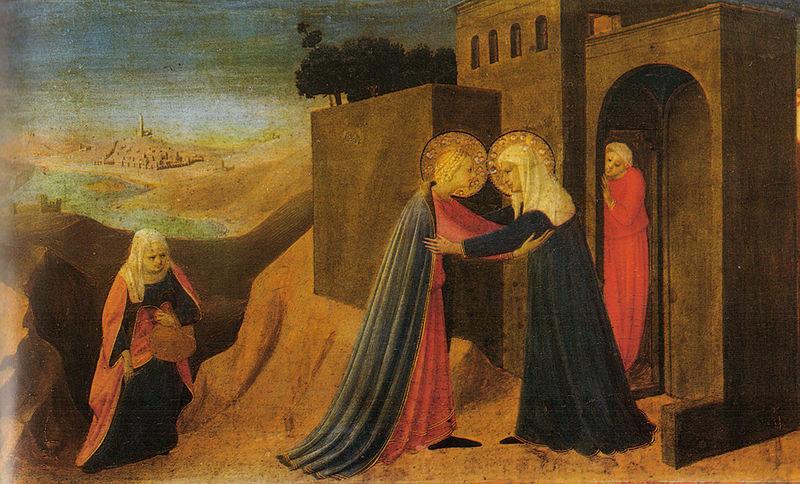 File:Angelico, visitazione da predella annunciazioe di cortona.jpg