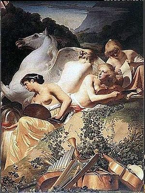 Four Muses, by Caesar van Everdingen