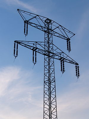 Electricity pylon - power outage