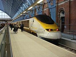 Eurostar at St Pancras railway station.jpg