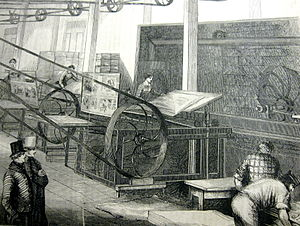 Gleason's printing operation, in: Gleason's Pi...