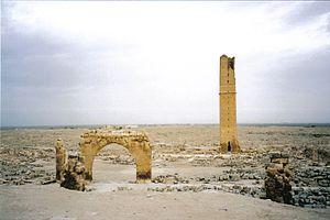 Ruins of the University at Harran. It was one ...