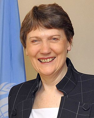English: Helen Clark, cropped from: UNDP Admin...