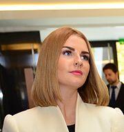 Kateřina Zemanová, Miloš Zeman's daughter.
