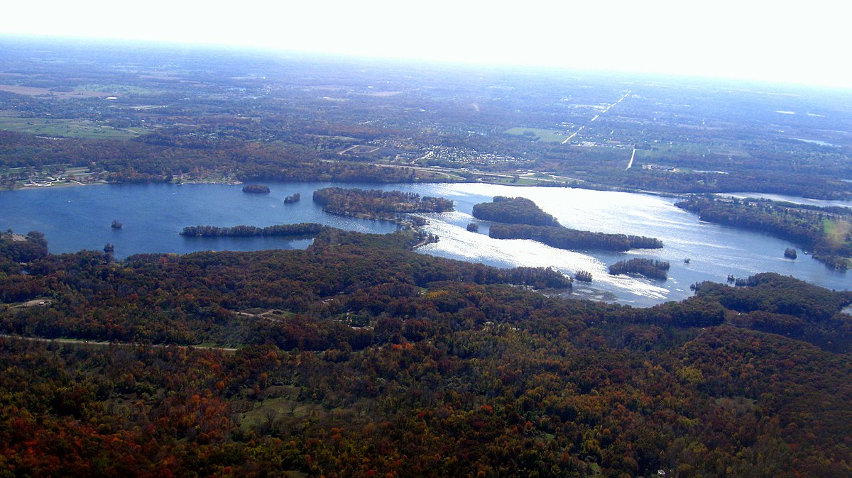 Green Michigan Township Lake