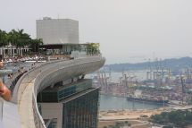 File Marina Bay Sands Hotel Singapore View Top