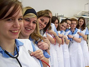 Czech nursing students.
