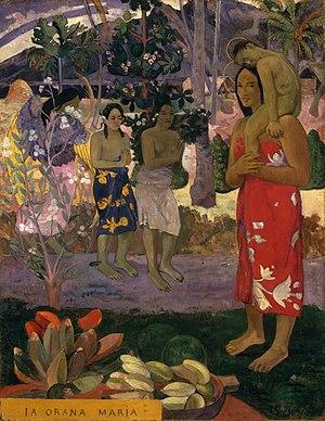 Paul Gauguin - Ia Orana Maria (Hail Mary) - Go...