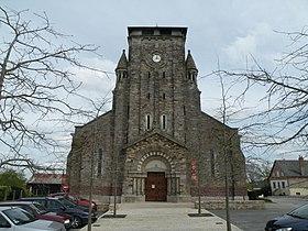 église de pléchâtel GR39
