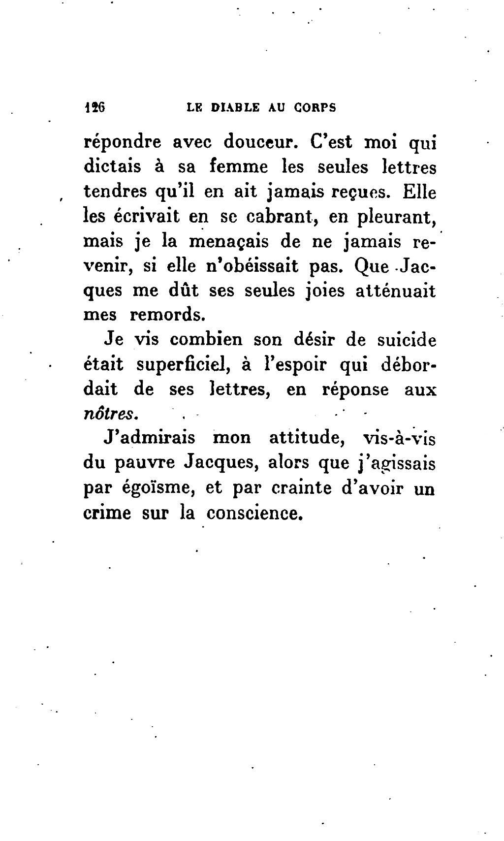 Avoir Le Diable Au Corps : avoir, diable, corps, Page:Radiguet, Diable, Corps,, Grasset,, 1923.djvu/130, Wikisource