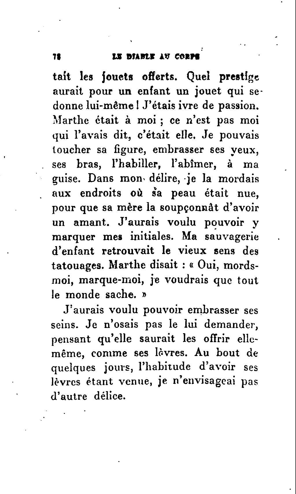 Avoir Le Diable Au Corps : avoir, diable, corps, Page:Radiguet, Diable, Corps,, Grasset,, 1923.djvu/82, Wikisource