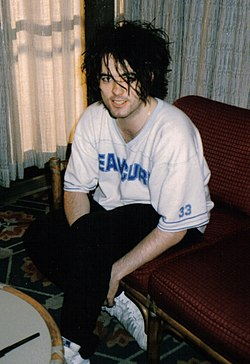 Robert Smith em 1985