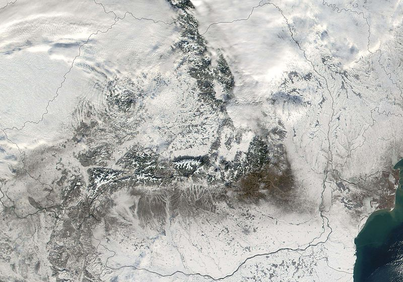 File:Satellite image of Romania in December 2001.jpg
