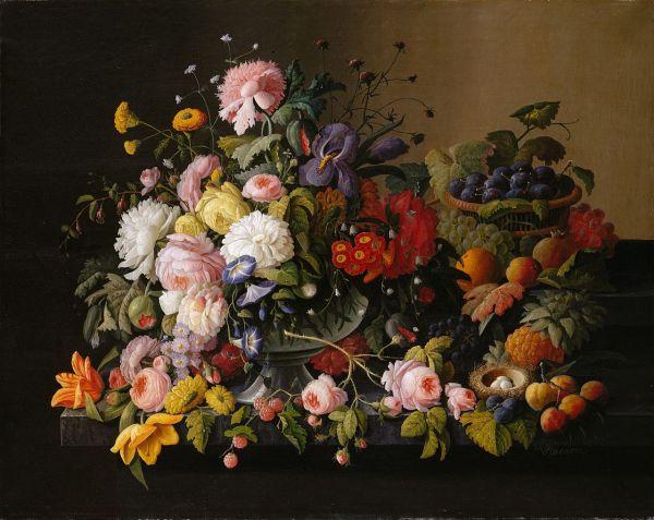 FileSeverin Roesen Still Life Flowers and Fruitjpg