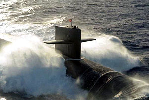 USS Maine (SSBN 741), Ohio class ballistic mis...