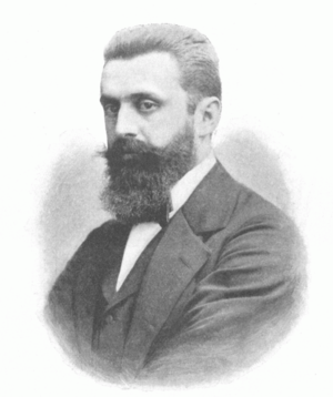 English: Theodor Herzl (1860–1904), Austro-Hun...