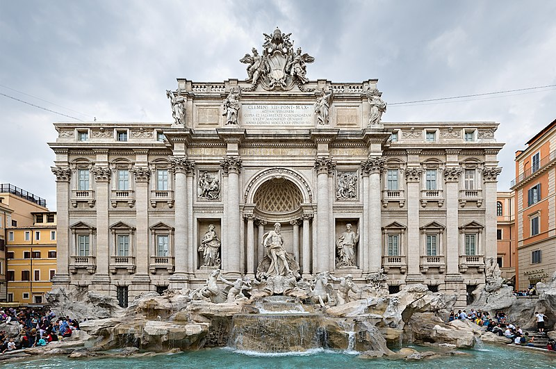 ไฟล์:Trevi Fountain, Rome, Italy 2 - May 2007.jpg