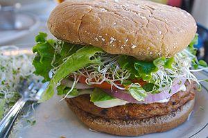 Mel's Diner. The BEST veggie burger I've ever ...