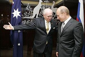 SYDNEY. With Australian Prime Minister John Ho...