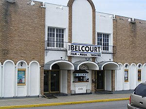 English: Belcourt Theatre in Nashville, Tennessee.