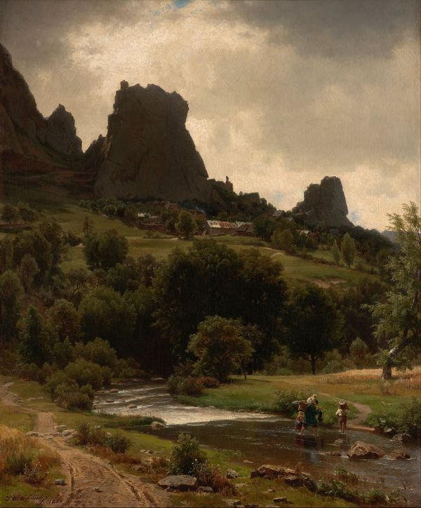 File Whittredge Worthington - Summer Pastorale View Of Kallenfels Google Art