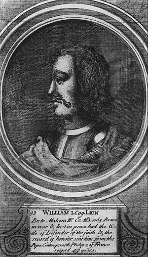 Portrait of William I, king of Scots
