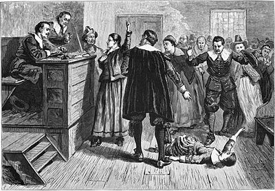 Salem witches trial