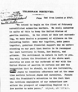 The Zimmermann Telegram decrypted into plainte...