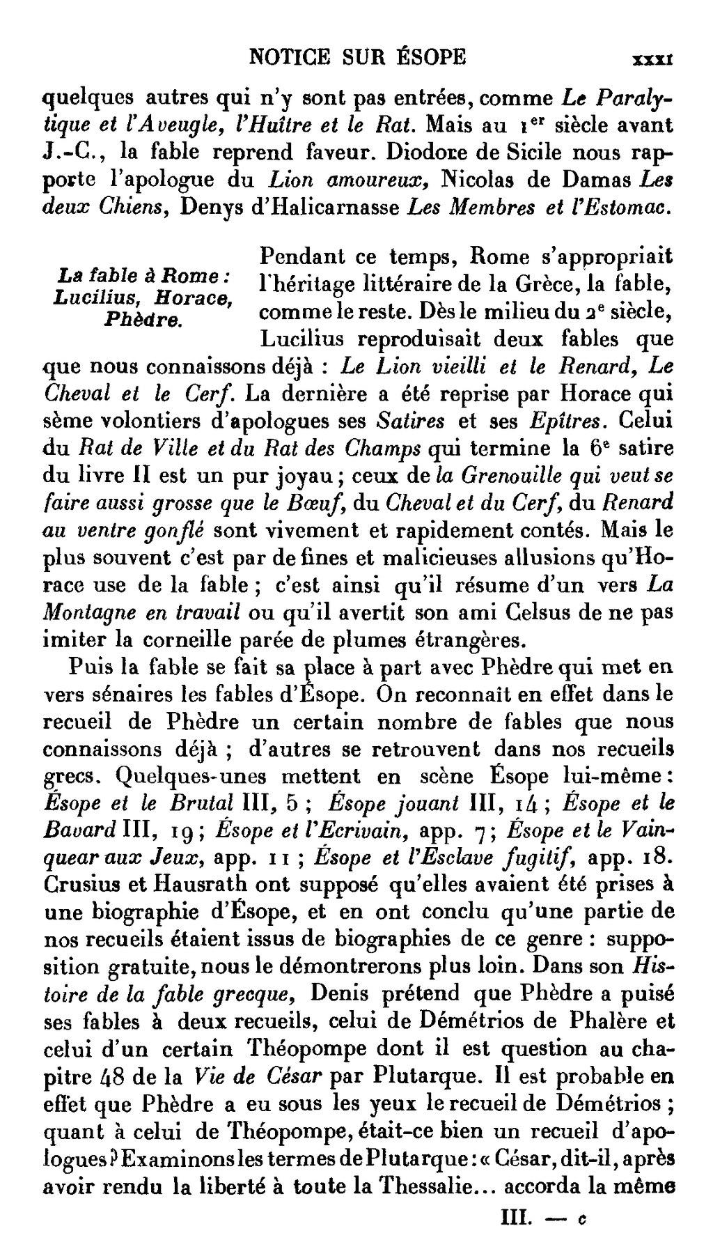 Le Lion Et Le Rat Esope : esope, Page:Ésope, Fables, Émile, Chambry.djvu/31, Wikisource