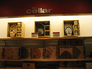 English: the cellar at Marshall Fields Flagship