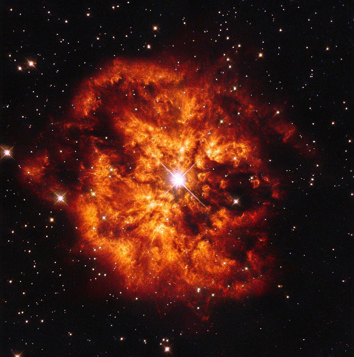 WolfRayet star  Wikipedia