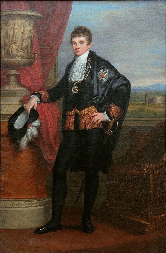 English: Ludwig I of Bavaria as Crown Prince D...